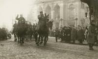 Generał Dowbor-Muśnicki w Bydgoszczy, styczeń 1920; fot. Muzeum Wojsk Lądowych w Bydgoszczy/domena publiczna