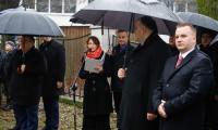 Ceremonia przy grobie plutonowego Pająkowskiego, fot. Mikołaj Kuras dla UMWKP