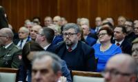 Uroczysta wspólna sesja sejmików województw kujawsko-pomorskiego i pomorskiego, fot Mikołaj Kuras dla  UMWKP