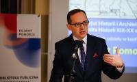 """Konferencja naukowa """"Powrót Pomorza do Polski 1920-2020"""" w Toruniu, fot. Mikołaj Kuras dla UMWKP"""