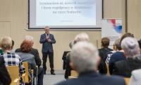 Konferencja w Urzędzie Marszałkowskim z okazji Dnia Babci i dziadka, fot. Szymon Zdziebło/tarantoga.pl