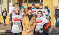 Start biegu sztafetowego w Toruniu, fot. Szymon Zdziebło/tarantoga.pl