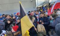 Meta biegu sztafetowego w Pucku, fot. Maciej Kwiatkowski