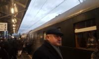 Odjazd historycznego pociągu do Pucka w stulecie zaślubin Polski z morzem, fot. UMWKP