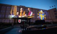 Uroczystości setnej rocznicy urodzin św. Jana Pawła II w Toruniu, fot. Mikołaj Kuras dla UMWKP