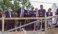 Ceremonia wmurowania kamienia węgielnego pod budowę Centrum Medycyny Weterynaryjnej UMK, fot. Szymon Zdziebło/tarantoga.pl dla UMWKP