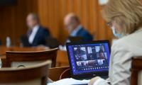 Sesja sejmiku województwa, 31 sierpnia 2020, fot. Mikołaj Kuras dla UMWKP