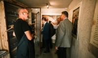 Podziemna drukarnia Solidarności – otwarcie ekspozycji z udziałem wicemarszałka Zbigniewa Ostrowskiego, fot. Filip Kowalkowski dla UMWKP