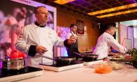 Ubiegłoroczne pokazy kulinarne w ramach Kujawsko-Pomorskiego Festiwalu Gęsiny w Przysieku, fot. Filip Kowalkowski dla UMWKP