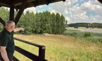 Brodnicki Park Krajobrazowy - wizja lokalna fot. Jacek Zdrojewski