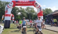 Rajd rowerowy Wiślaną trasą rowerową (w okolicach Włocławka)