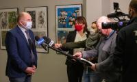 Sesja sejmiku województwa kujawsko-pomorskiego, 8 lutego 2021, fot. Mikołaj Kuras dla UMWKP