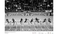 Bieg na 60 m ppł podczas meetingu Copernicus Cup, fot. Paweł Skarpa