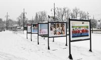 """Wystawa fotograficzna """"Kujawy i Pomorze"""" zimową stolicą lekkiej atletyki, fot. Paweł Skraba"""