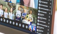 Spotkanie online z młodymi sportowcami, fot. Szymon Zdziebło/tarantoga.pl dla UMWKP