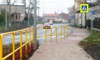 Ścieżka rowerowa wzdłuż drogi wojewódzkiej nr 251 pomiędzy Żninem i granicą województwa, fot. Filip Kowalkowski dla UMWKP