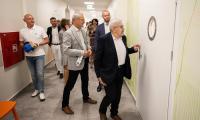 Otwarcie zmodernizowanych oddziałów w szpitalu psychiatrycznym w Świeciu, fot. Andrzej Goiński/UMWKP