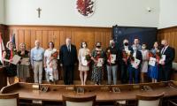 Nagrody na Dzień Muzeów, fot. Andrzej Goiński UMWKP
