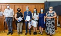 Gala wręczenia nagród w konkursie wiedzy o samorządzie terytorialnym, fot. Szymon Zdziebło tarantoga.pl dla UMWKP
