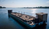 Barka lęgowa dla rybitw. Fot. Zespół Parków Krajobrazowych nad Dolną Wisłą