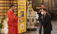 Uroczystość erygowania sanktuarium św. Jakuba w Toruniu, fot. Mikołaj Kuras dla UMWKP
