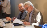 Prace zespołu roboczego przed Konwentem Marszałków, fot. Mikołaj Kuras dla UMWKP