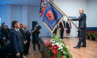 Nadanie sztandaru gminie Czernikowo, fot. Andrzej Goiński UMWKP