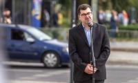 Kardynał Stefan Wyszyński – wystawa przed Urzędem Marszałkowskim w Toruniu, fot. Szymon Zdziebło/tarantoga.pl dla UMWKP