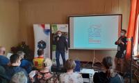 fot. M.Wiśniewski - Konferencja podsumowująca projekt ThreeT, Park Krajobrazowy Góry Łosiowe, Dyrektor M.Drogorób, Wójt Gminy Grudziądz A.Rodziewicz