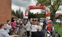 fot. M.Wiśniewski start rajdu rowerowego w Wielkim Wełczu