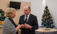 18.12.201 Spotkanie opłatkowe po sesji - fot. Łukasz Piecyk