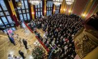 19.12.2017 Samorzadowe spotkanie oplatkowe fot. Andrzej Goinski