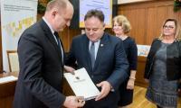 20.12.2017 Podpisanie umów RPO - Łukasz Piecyk
