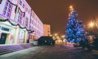 21.12.2017 Choinka UM - fot. Łukasz Piecyk