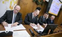 28.12.2017, Uroczystość podpisania umów o dofinansowanie projektów w ramach Regionalnego Programu Operacyjnego Województwa Kujawsko-Pomorskiego, fot. Andrzej Goiński