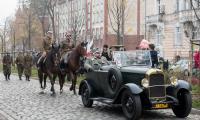 Defilada historyczna z prezentacją oddziałów wojskowych na przestrzeni wieków, fot. Łukasz Piecyk