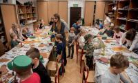 Świąteczne warsztaty w Galerii i Ośrodku Plastycznej Twórczości Dziecka, fot. Łukasz Piecyk