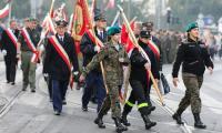 Obchody Narodowego Święta Niepodległości w Bydgoszczy, fot. Roman Bosiacki
