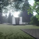 Wizualizacje parku pamięci i pomnika Pamięci Ofiar Zbrodni Pomorskiej 1939; autor Zbigniew Mikielewicz
