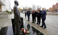 Delegacja gruzińskiego regionu Imereti, 10 listopada 2015r. , fot. Mikołaj Kuras
