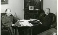 W. Raczkiewicz i gen. W. Sikorski, 1942, fot. Archiwum Emigracji UMK