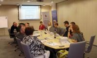 Uczestnicy szkolenia dla trenerów programu Bez przemocy, listopad 2015 r. , fot. Biuro Wsparcia Rodziny i Przeciwdziałania Przemocy