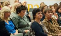 """Konferencja """"Wychowanie asertywne – profilaktyka przemocy w rodzinie i dla rodziny"""", fot. Jacek Piotrowski"""