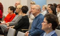 """Konferencja """"Potrzeby i możliwości aktywnego życia seniora"""", fot. Szymon Zdziebło"""