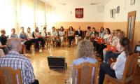 """Uczestnicy szkolenia """"Dialog motywujący w pracy z rodziną"""", Mogilno 23-24.05.2016r. fot. Biuro Wsparcia Rodziny i Przeciwdziałania Przemocy"""