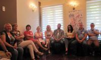warsztaty podczas konferencji Przeciwdziałanie przemocy w rodzinie – działania skoncentrowane na współpracy, Włocławek, 3 czerwca 2016 r., fot. Komenda Miejska Policji we Włocławku