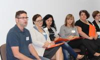 """Uczestnicy szkolenia """"Dialog motywujący w pracy z rodziną"""", Grudziądz 13-14.06.2016r. fot. Biuro Wsparcia Rodziny i Przeciwdziałania Przemocy"""