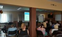 zajęcia profilaktyczne z wychowankami Młodzieżowego Ośrodka Wychowawczego, fot. MOW w Samostrzelu