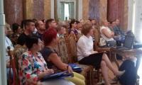 """Uczestnicy szkolenia """"Wspólnie przeciw przemocy"""" Lubostroń, 12-14.09.2016 r., fot. Biuro Wsparcia Rodziny i Przeciwdziałania Przemocy"""
