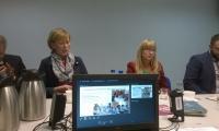 X posiedzenie WRdsPS, fot.: Materiały własne Departamentu Spraw Społecznych i Zdrowia